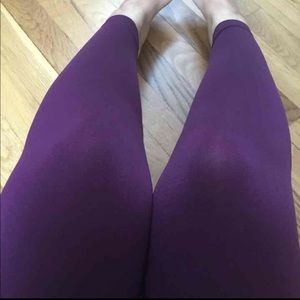 Deep purple legging
